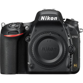 Nikon D750 DSLR Camera Body by Nikon at B&C Camera