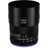 Zeiss Loxia 50mm f/2 Planar T* Lens for Sony E Mount