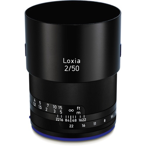 Zeiss Loxia 50mm f/2 Planar T* Lens for Sony E Mount by Zeiss at bandccamera