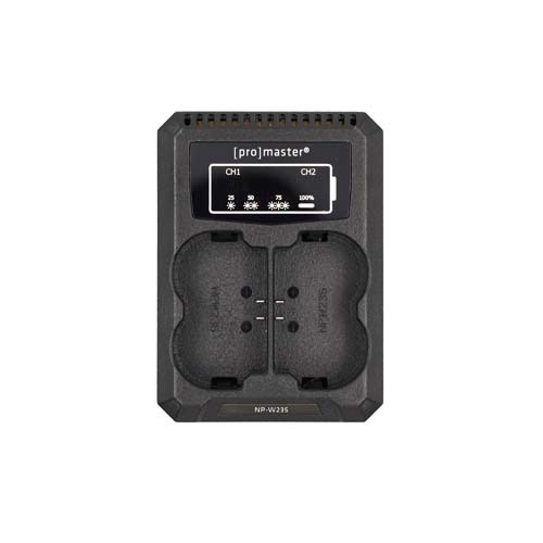 Promaster Dually Charger-USB for Fuji NP-W235