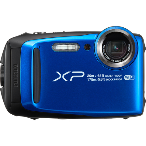 Fujifilm FinePix XP120 Digital Camera - Blue by Fujifilm at bandccamera