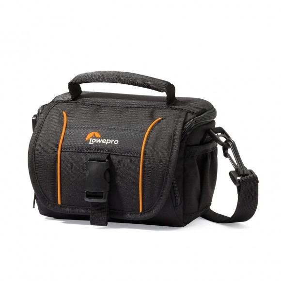 Lowepro Adventura SH 110 II Shoulder Bag (Black) - B&C Camera - 1