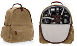 ONA The Bolton Street Camera and Laptop Backpack (Field Tan) - B&C Camera