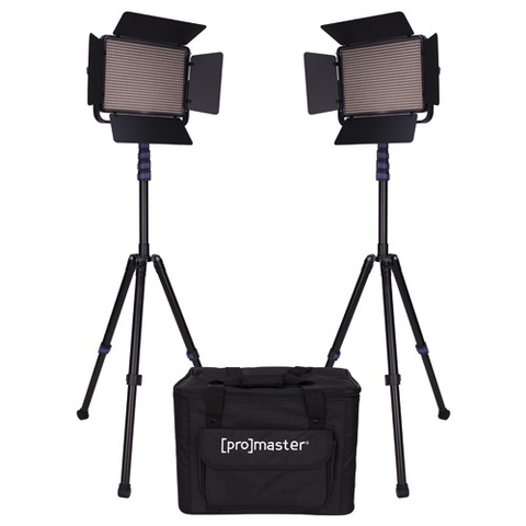 Promaster LED1000D Specialist LED 2 Light Transport Kit - Daylight by Promaster at bandccamera