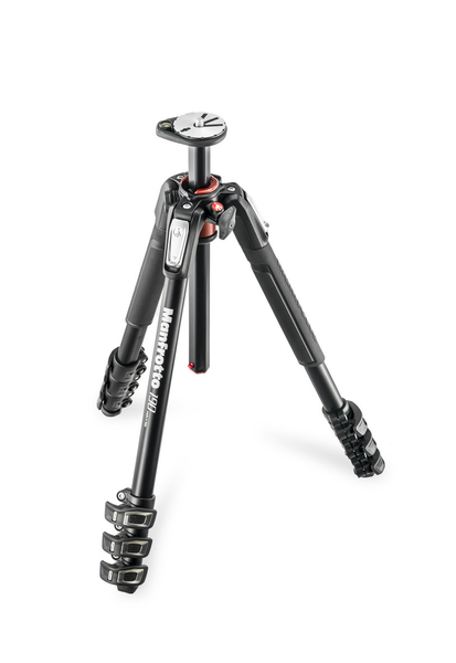 Manfrotto MT190XPRO4 Aluminum Tripod with 3-Way Pan/Tilt Head - B&C Camera - 1