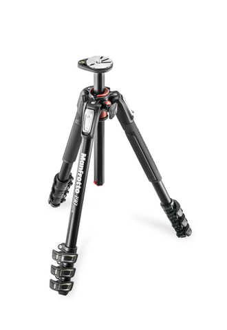 Manfrotto MT190XPRO4 Aluminum Tripod by Manfrotto at B&C Camera