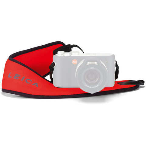 Leica Floating Carrying Strap (Red) by Leica at bandccamera
