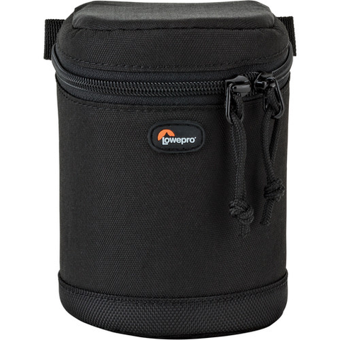 Lowepro Compact Zoom Lens Case 8x12cm (Black) by Lowepro at B&C Camera