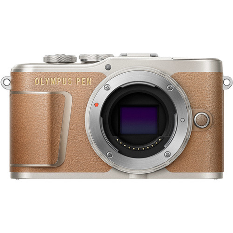 Olympus PEN E-PL9 Mirrorless Micro Four Thirds Digital Camera Body (Brown) by Olympus at B&C Camera