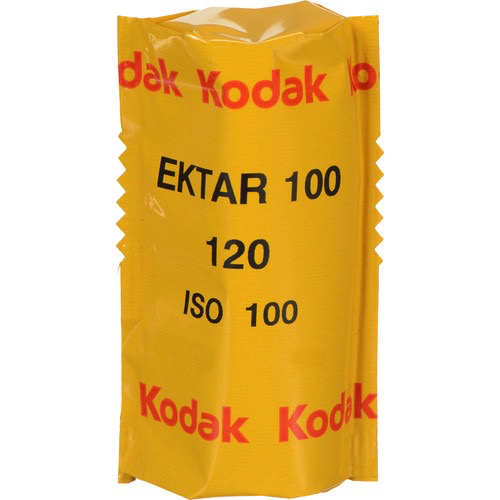 Kodak Professional Ektar 100 Color Negative Film (120 Roll)