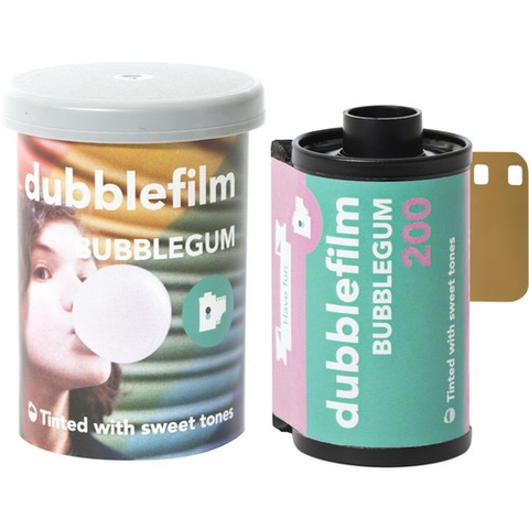 dubblefilm BUBBLEGUM 200 Color Negative Film (35mm Roll Film, 36 Exposures)