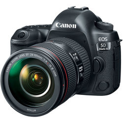 Canon EOS 5D Mark IV DSLR Camera with 24-105mm f/4L II Lens by Canon at B&C Camera