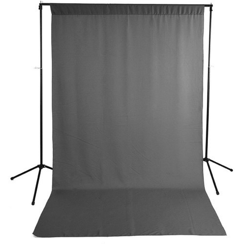 Savage Economy Background Kit 5x9' (Gray Backdrop) by Savage at B&C Camera