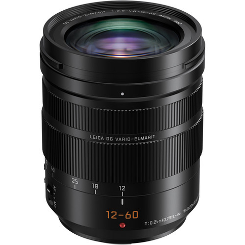 Panasonic Leica DG Vario-Elmarit 12-60mm f/2.8-4 ASPH. POWER O.I.S. Lens by Panasonic at B&C Camera