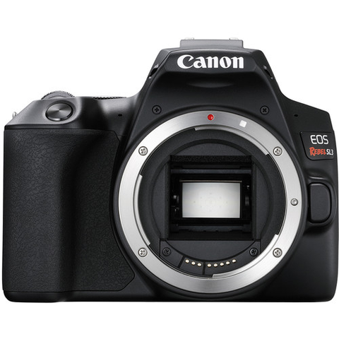Canon EOS Rebel SL3 DSLR Camera (Black, Body Only) by Canon at B&C Camera
