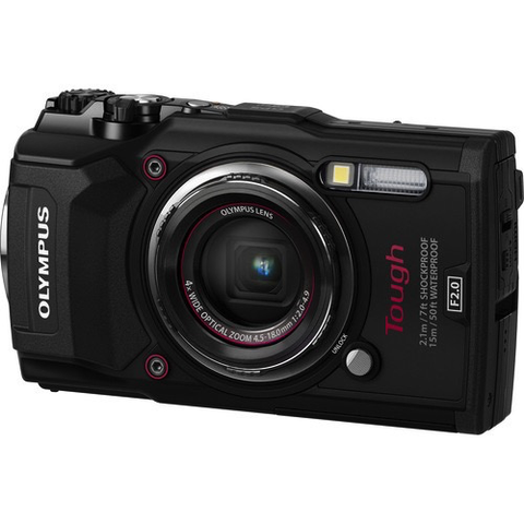 Olympus Tough TG-5 Digital Camera (Black) by Olympus at bandccamera