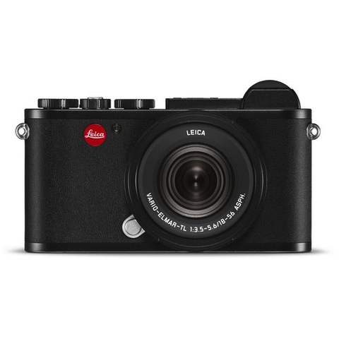 Leica CL Mirrorless Digital Camera with 18-56mm Lens (Black) by Leica at bandccamera
