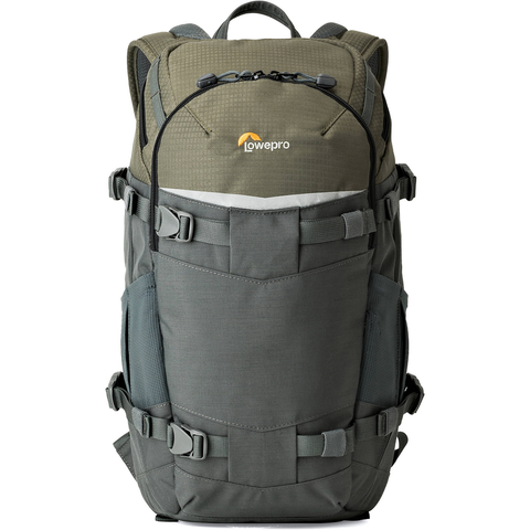 Lowepro Flipside Trek BP 250 AW Backpack (Gray/Dark Green) by Lowepro at bandccamera