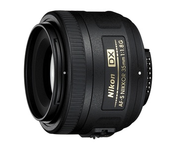 Nikon AF-S DX NIKKOR 35mm f/1.8G Lens by Nikon at bandccamera