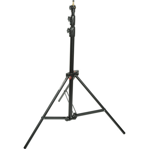 Manfrotto Alu Ranker Air-Cushioned Light Stand (Black, 9') by Manfrotto at bandccamera