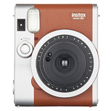 Fujifilm Instax Mini 90 Neo Classic Instant Camera - Brown - B&C Camera