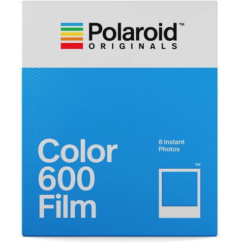 Polaroid Originals Color 600 Instant Film (8 Exposures) by Polaroid at B&C Camera