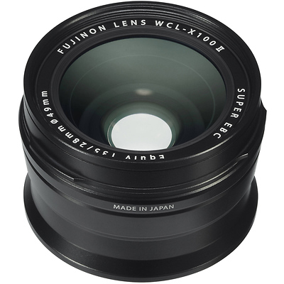 FUJI X100F WIDE LENS BLACK by Fujifilm at B&C Camera