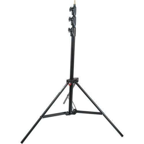 Manfrotto Alu Master Air-Cushioned Stand (Black, 12') by Manfrotto at B&C Camera