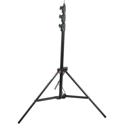 Manfrotto Alu Master Air-Cushioned Stand (Black, 12') by Manfrotto at bandccamera