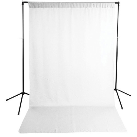 Savage Economy Background Kit 5x9' (White Backdrop) by Savage at B&C Camera