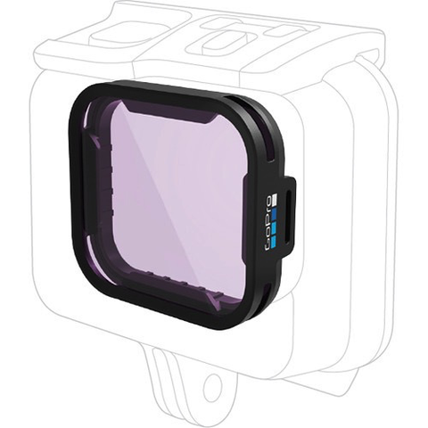 GoPro GREEN WATER DIVE FILTER FOR HERO5 BLACK SUPER SUIT by GoPro at B&C Camera