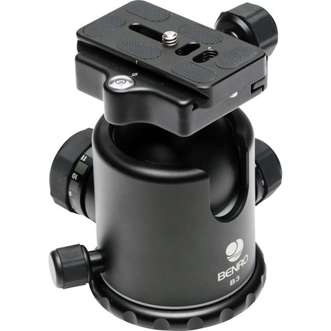 Benro B3 Double Action Ballhead - B&C Camera