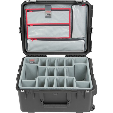SKB iSeries 2217-10 Case with Think Tank Photo Dividers & Lid Organizer (Black)