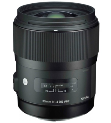 Sigma 35mm F1.4 DG HSM Art Lens for Canon