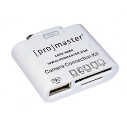 Promaster Camera Connection Kit for iPad 1/2/3 by Promaster at bandccamera