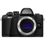 Olympus OM-D E-M10 Mark II Mirrorless Micro Four Thirds Digital Camera Body (Black) by Olympus at B&C Camera