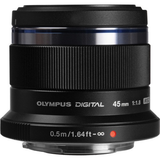 Olympus M.Zuiko Digital ED 45mm f/1.8 Lens (Black) by Olympus at B&C Camera