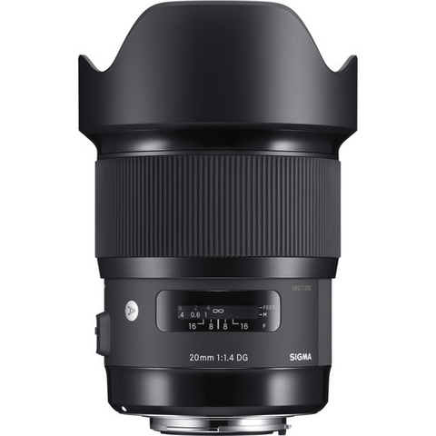 Sigma 20mm f/1.4 DG HSM Art Lens for Canon - B&C Camera