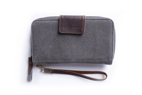 Kelly Moore Bag - Canvas Wallet - Black - B&C Camera - 1