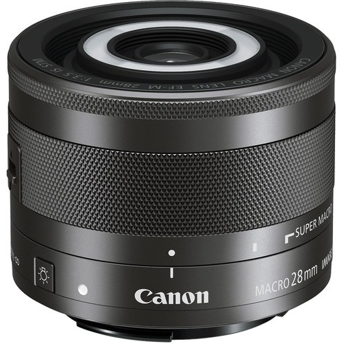 Canon EF-M 28mm f/3.5 Macro IS STM Lens by Canon at B&C Camera