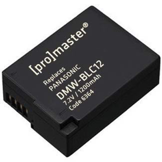 Promaster DMW-BLC12 Lithium Ion Battery for Panasonic by Promaster at B&C Camera