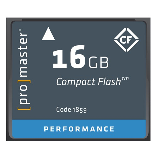 Promaster 16GB Compact Flash Performance Memory Card - B&C Camera