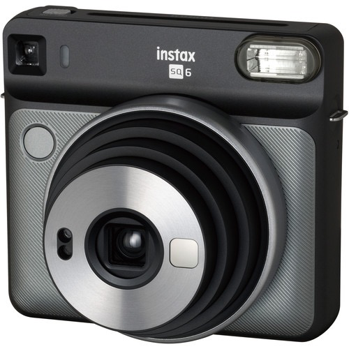 FUJIFILM INSTAX SQUARE SQ6 Instant Film Camera (Graphite Gray) by Fujifilm at B&C Camera