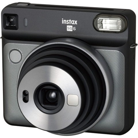FUJIFILM INSTAX SQUARE SQ6 Instant Film Camera (Graphite Gray) by Fujifilm at bandccamera