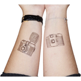Lomography Temporary Tattoos (5 Pack, Various Designs) - B&C Camera - 6