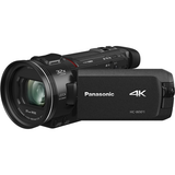 Panasonic HC-WXF1 4K UHD Camcorder with Twin & Multi-Cam Capture by Panasonic at B&C Camera