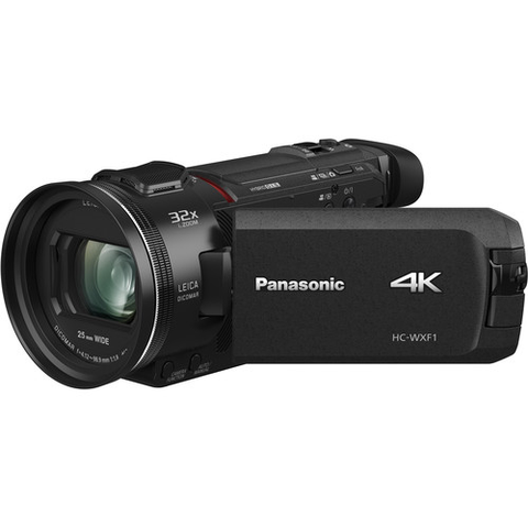 Panasonic HC-WXF1 4K UHD Camcorder with Twin & Multi-Cam Capture by Panasonic at bandccamera