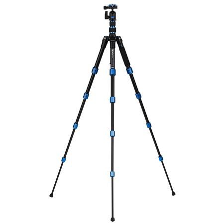 Benro 5-Section Aluminum Slim Travel Tripod Kit by Benro at B&C Camera