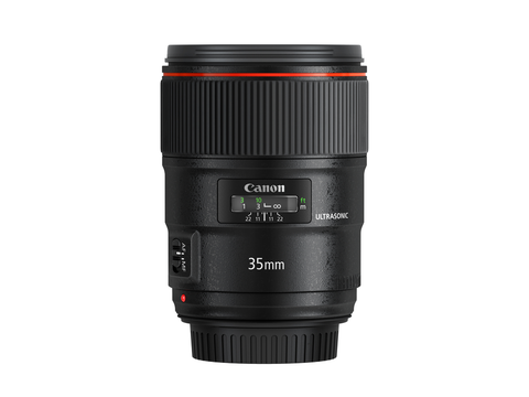 Canon EF 35mm F1.4L II USM by Canon at B&C Camera