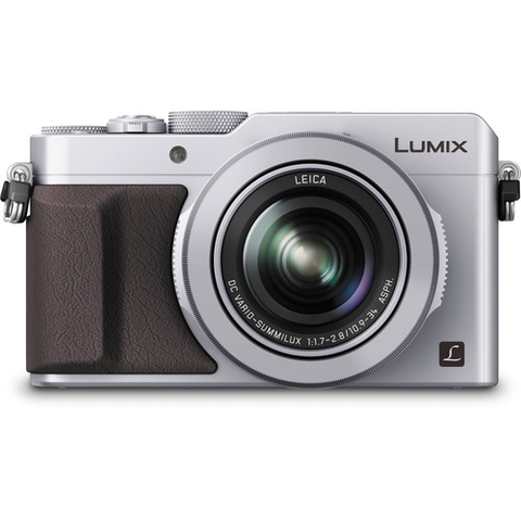 Panasonic Lumix DMC-LX100 Digital Camera (Silver) by Panasonic at B&C Camera